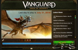 Vanguard: Farewell, old friend
