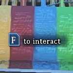 f to interact